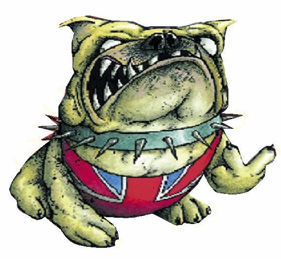 一只英国大青蛙